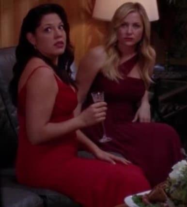 Grey's-Anatomy-Bailey-wedding-Meredith-Callie-Arizona-Bridesmaid