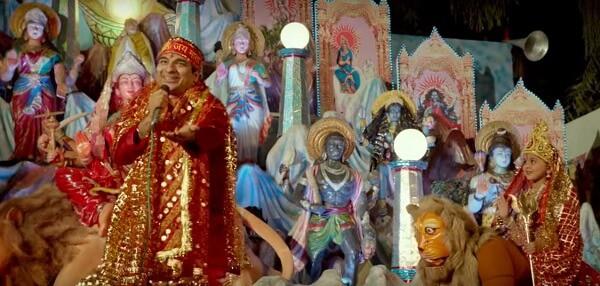 Devotees singing