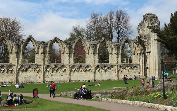 St Mary's Abbey - York