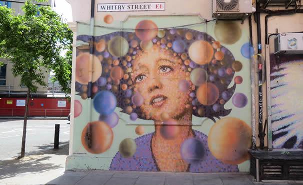 Bubble woman