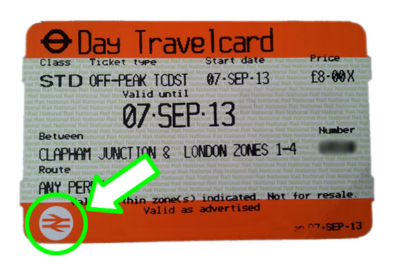 Day travelcard - National Rail