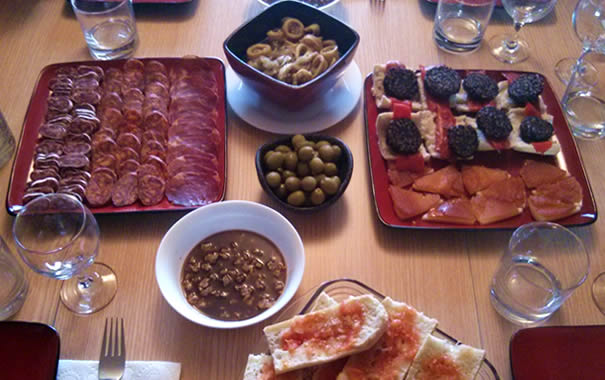 Spanish food abroad