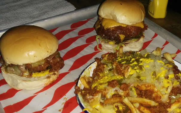 Meat Liquor Hamburgers - London