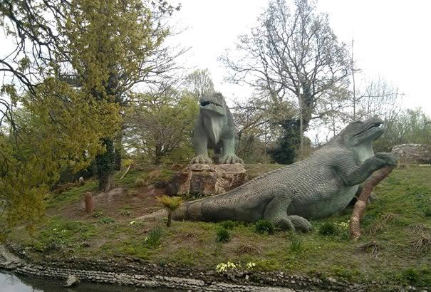Crystal Palace Park - Dinosaurs