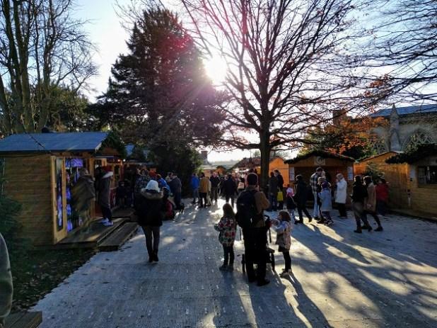 mercado Navidad en St Alban's