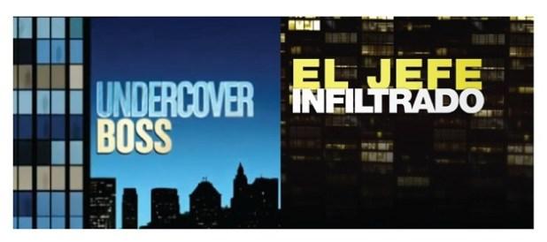 El jefe infiltrado vs Undercover boss