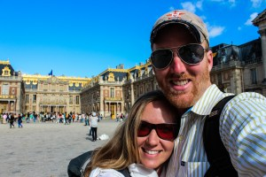 David & Rebekah at the Palace of Versailles