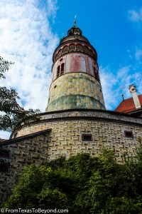 The Round Tower at Cesky Krumlov Castle