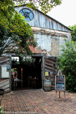 The Gristmill - Exterior of the Old Cotton Gin
