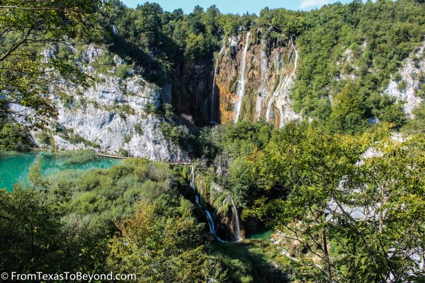 Veliki Slap Falls at Lake Plitvice National Park