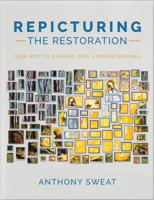 "The book cover of ""Repicturing the Restoration"" by Anthony Sweat."