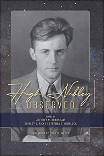 The book cover of Hugh Nibley Observed.