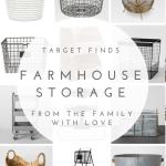 Farmhouse Storage Ideas Target 500 Target Giveaway