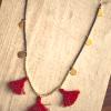 Traveling Tassel Necklace