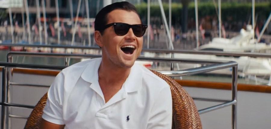 Sunglasses Leonardo DiCaprio in The Wolf of Wall Street (2013)