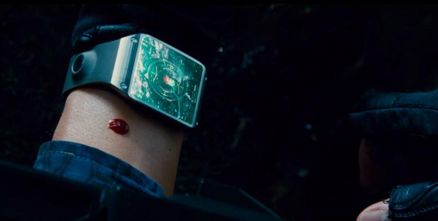Smartwatch in Jurassic World (2015)