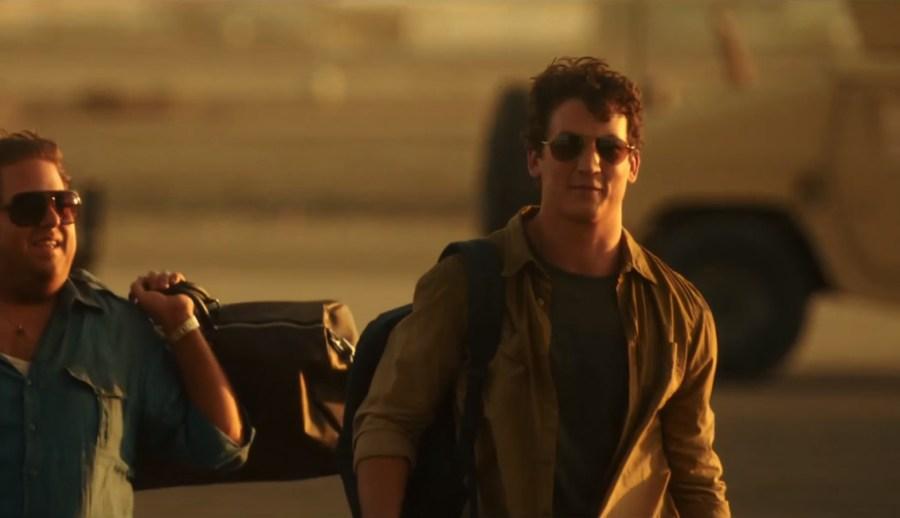 Khaki Shirt Miles Teller in War Dogs (2016)