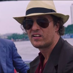 Ray-Ban Sunglasses Matthew McConaughey in Gold (2016)