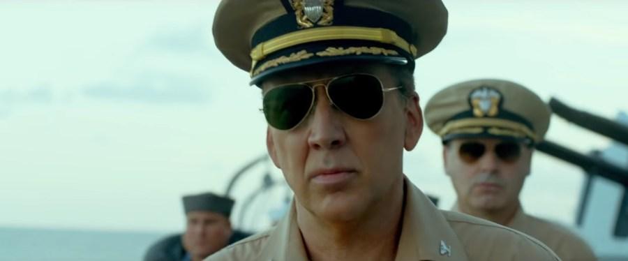 Sunglasses Nicolas Cage in USS Indianapolis: Men of Courage (2016)