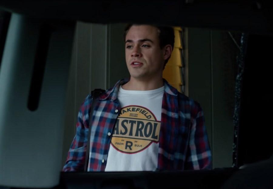 Wakefield Castrol T-shirt Dacre Montgomery in Power Rangers (2017)