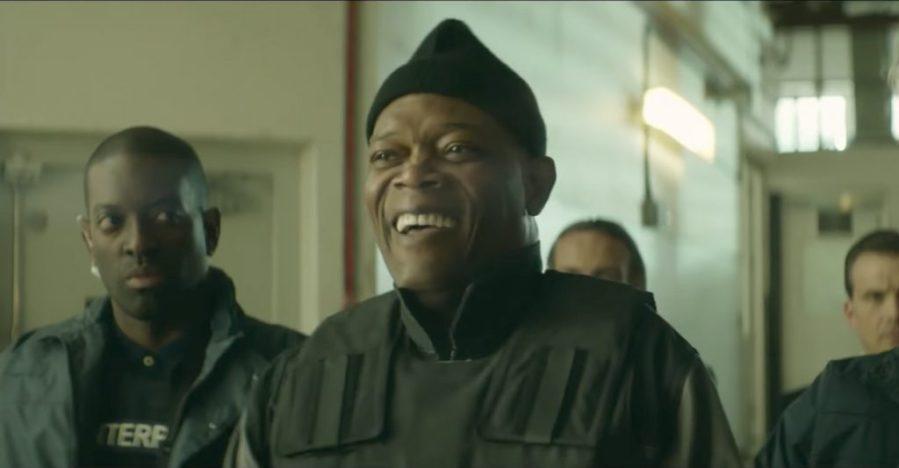 Black beanie hat Samuel L. Jackson in The Hitman's Bodyguard (2017)