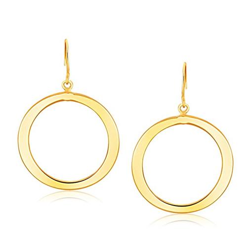 Dangling hoop earrings Reese Witherspoon in Home Again (2017)
