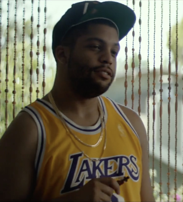 #8 Kobe Bryant LA Lakers shirt O'Shea Jackson Jr. in Ingrid Goes West (2017)