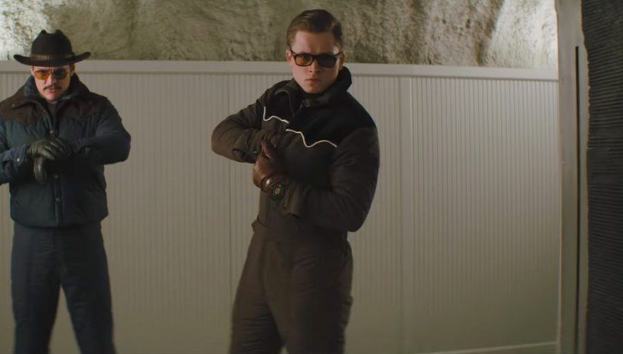 Sunglasses Taron Egerton in Kingsman: The Golden Circle (2017)