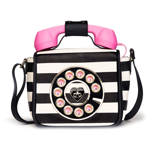 Black and white striped telephone bag Tiffany Haddish in Girls Trip (2017)