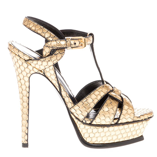 Golden heeled sandals Tiffany Haddish in Girls Trip (2017)
