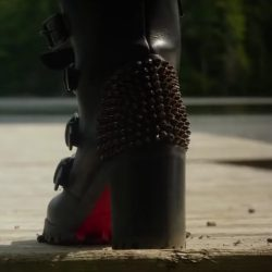 Studded Buckle Boots Blake Lively in A Simple Favor (2018)