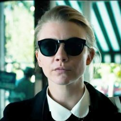 Sunglasses Natalie Dormer in the movie In Darkness (2018)