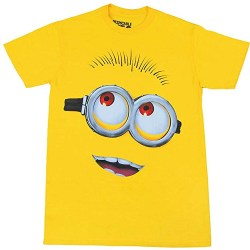 Minion Big Head Yellow T-Shirt