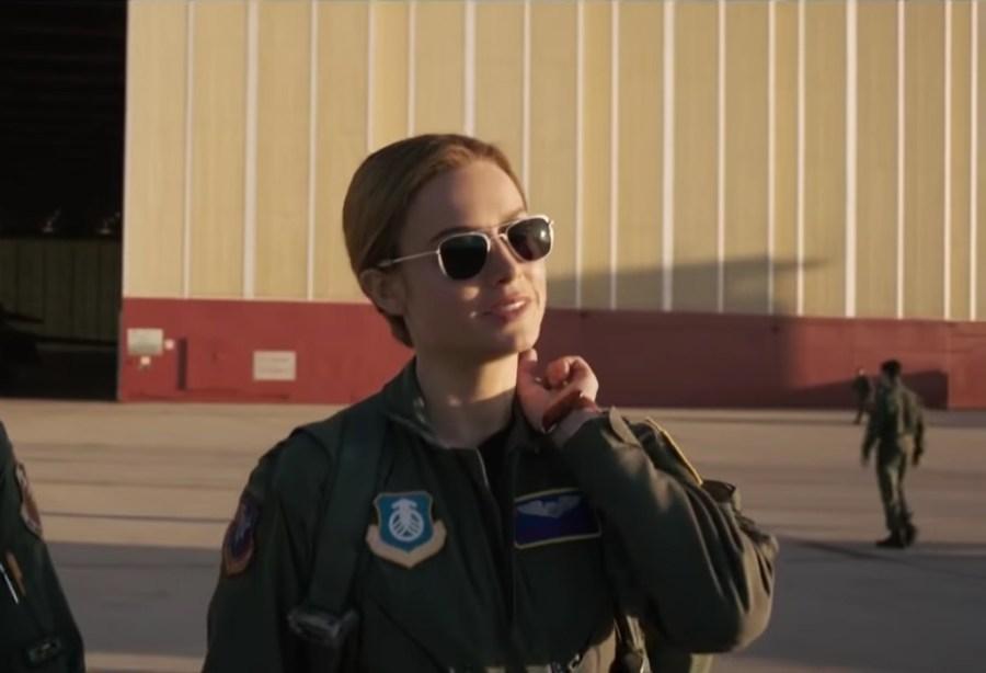 Sunglasses Brie Larson in Captain Marvel (2019)