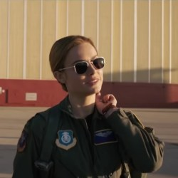Sunglasses Brie Larson in Captain Marvel (2019)