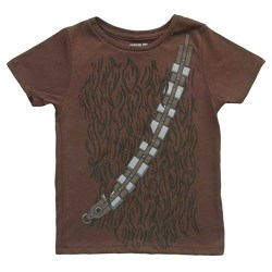 Star Wars I Am Chewbacca Toddlers Brown Costume T-Shirt