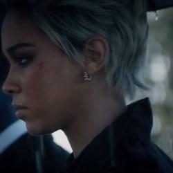 Spiked Earrings Alexandra Shipp in Dark Phoenix (2019)