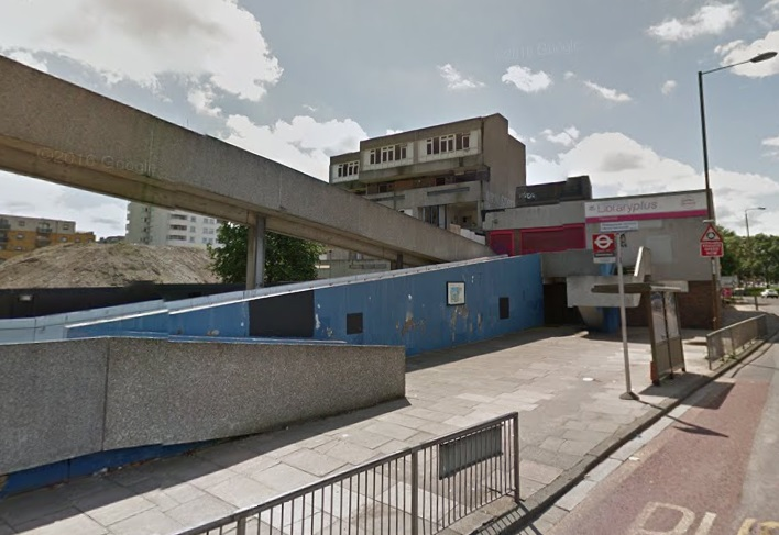 Former Thamesmead library demolition imminent as Peabody finally get moving