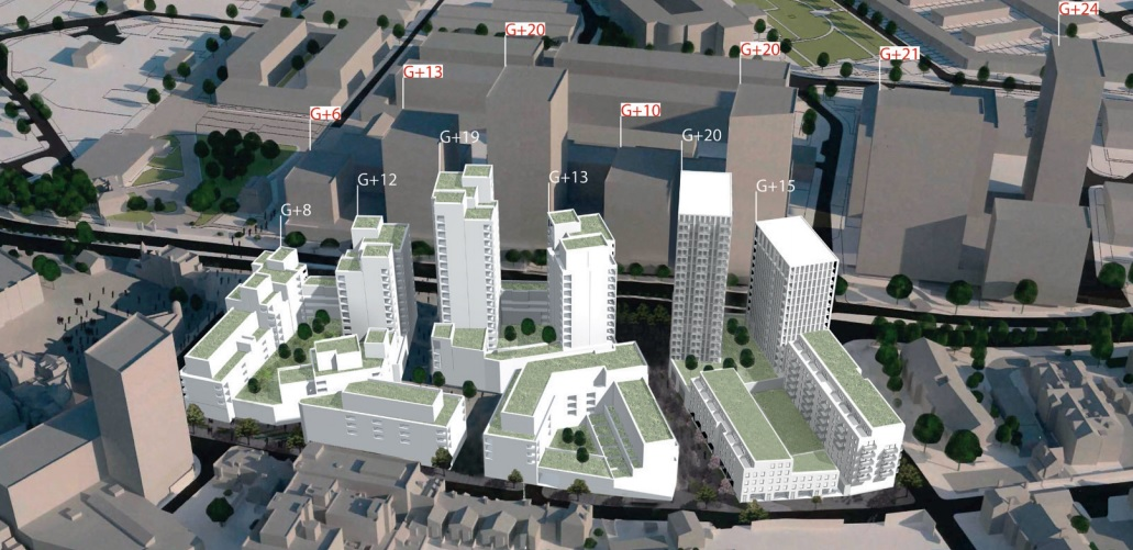 Further consultation on 750 homes, shops and cinema at Spray Street in Woolwich