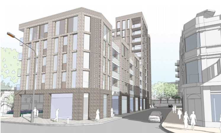 Another housing proposal and hotel in Greenwich town centre