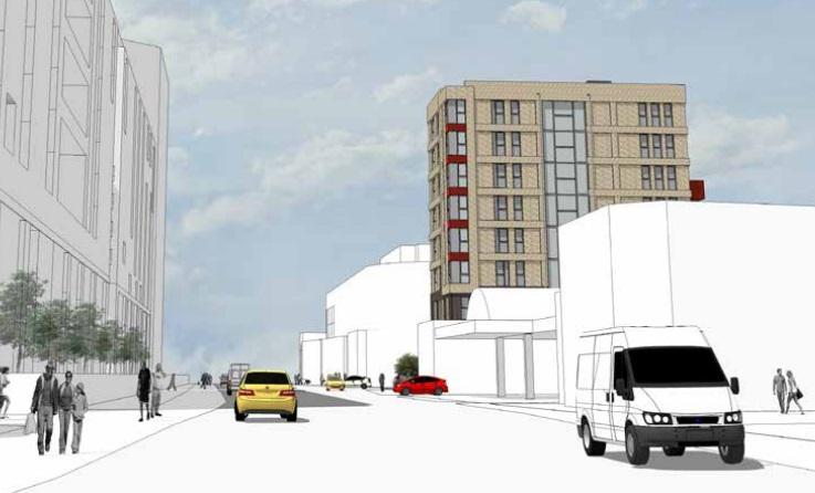Block of flats planned in Deptford along Creek Road