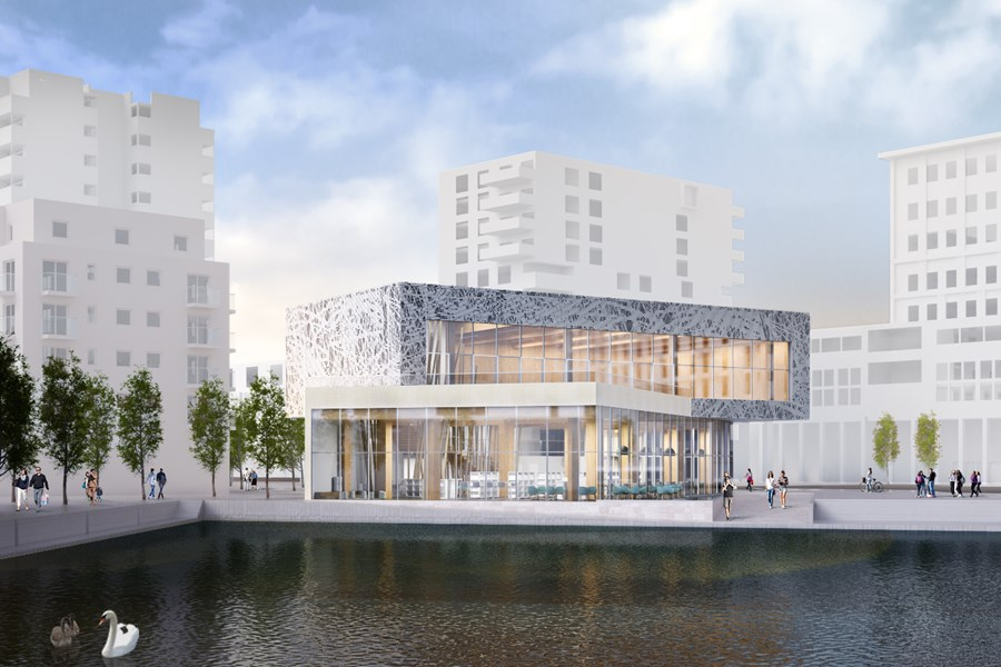 Take a look at Thamesmead's new library