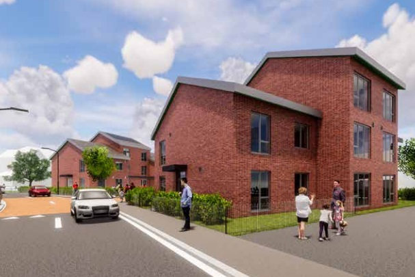 Two blocks of flats planned on Erith open space