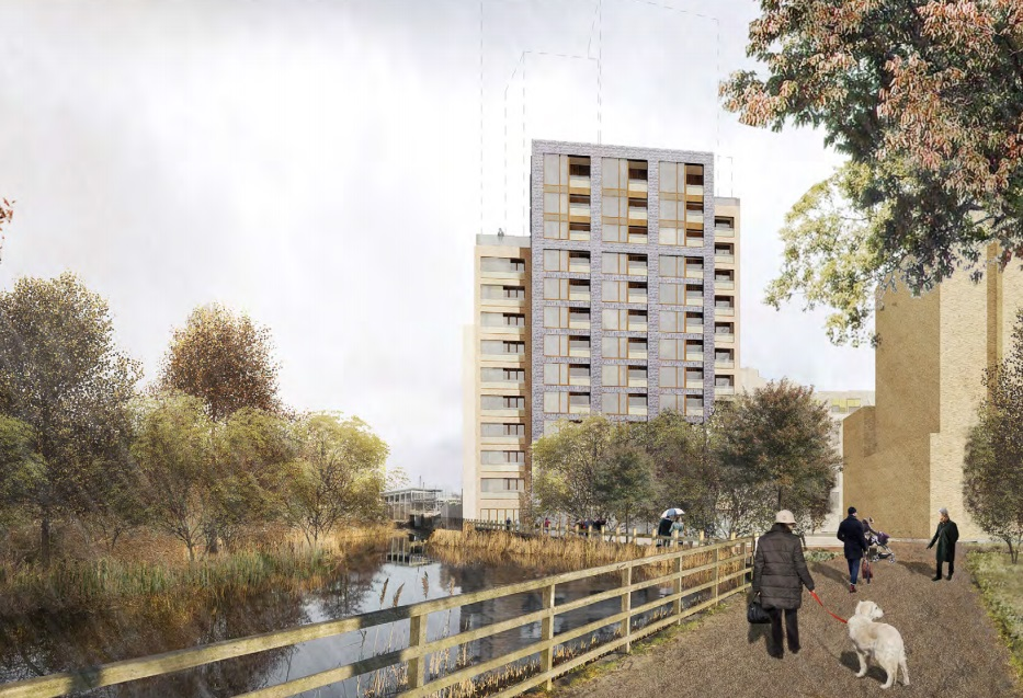 Tower beside Greenwich ecological park blocked by council