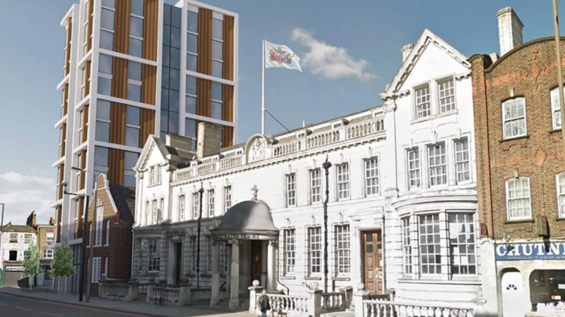Send them down: Tower plans at Greenwich Magistrates Court axed as revised ideas pursued