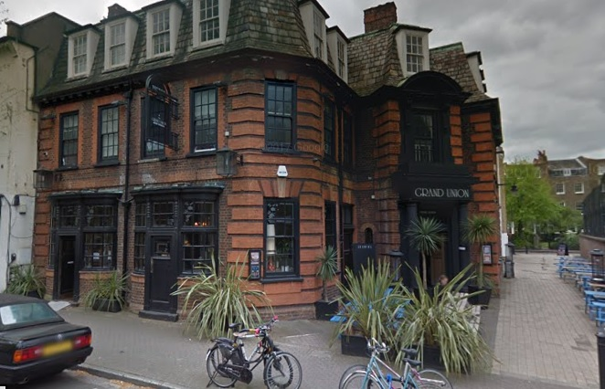 Fire erupts at Grove House pub