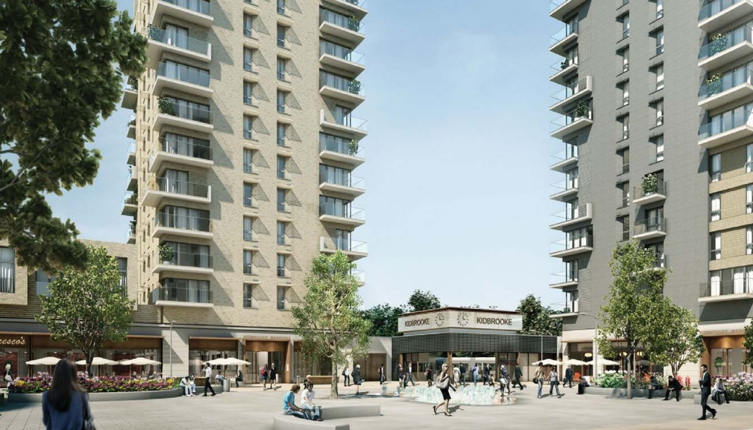Kidbrooke's new railway station plan submitted