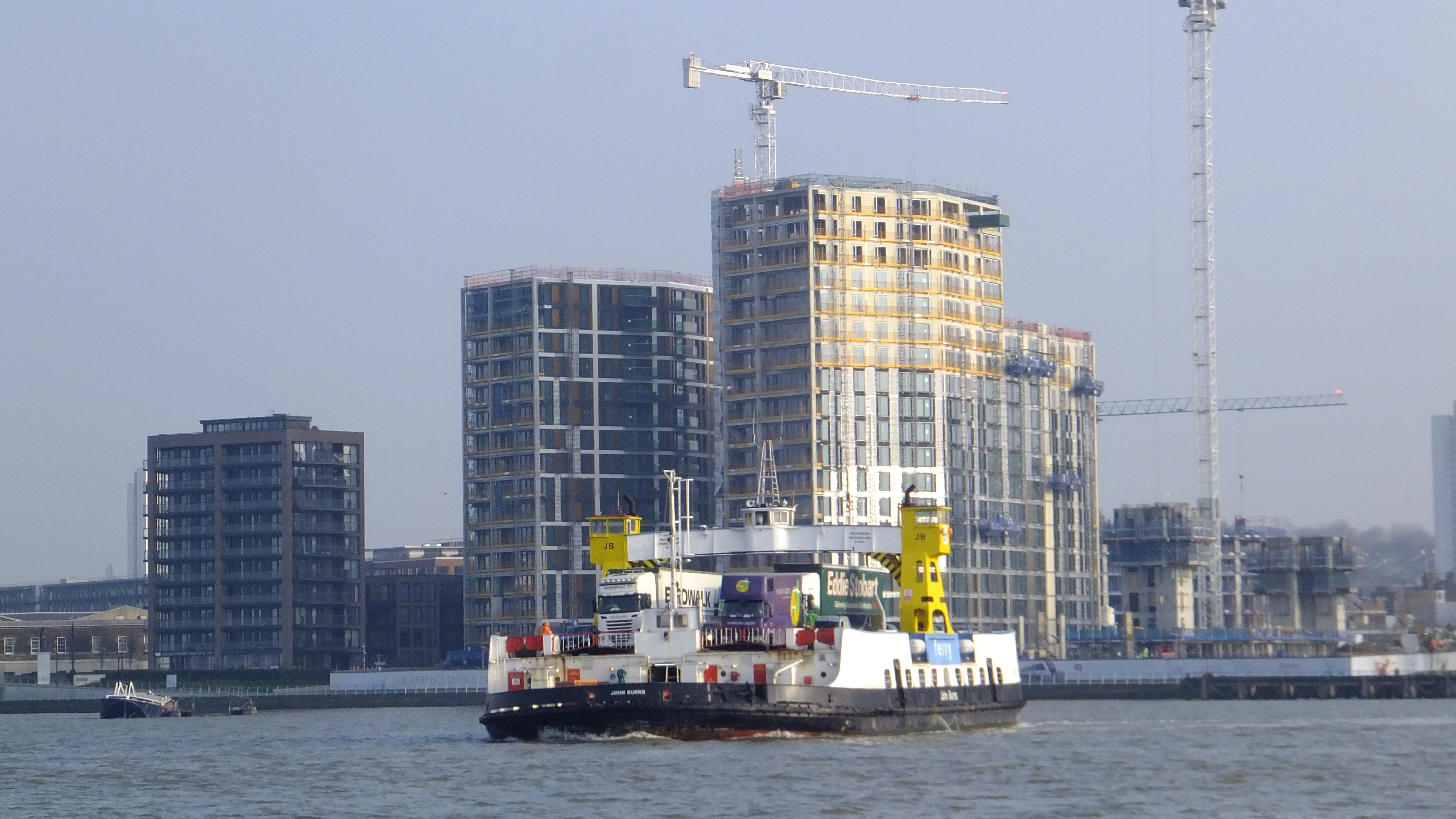 Woolwich Ferry farewell tour abandoned due to last minute closure