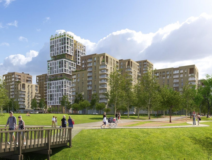 Sainsbury's and Young's pub proposal submitted for Kidbrooke's new town centre