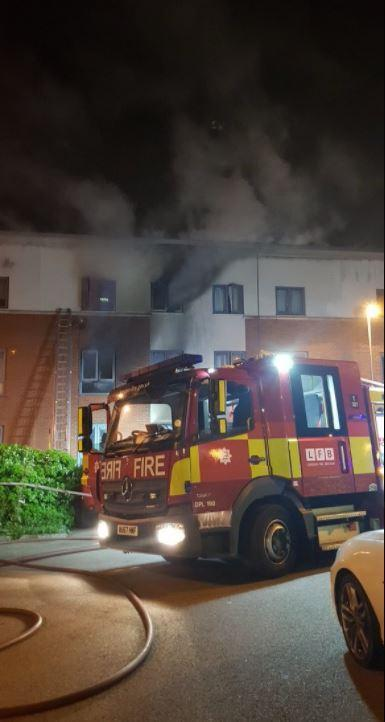 Woolwich fire: one dead and two taken to hospital